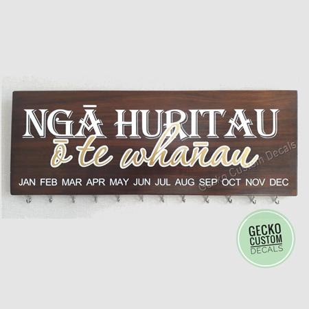 Birthday Board - Maori Text
