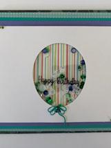 Birthday  Card - Shaker Card