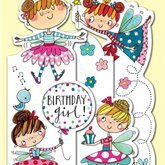 Birthday Girl  Fairy- card