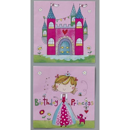 Birthday Princess Party Napkins x 20
