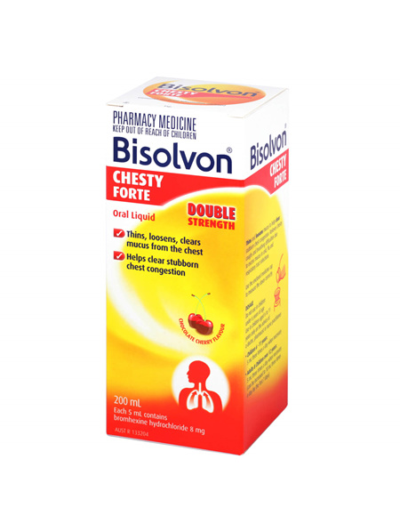BISOLVON Chesty Forte 200ml