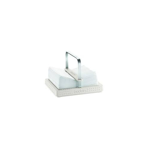 Bistro Napkin Holder Off White