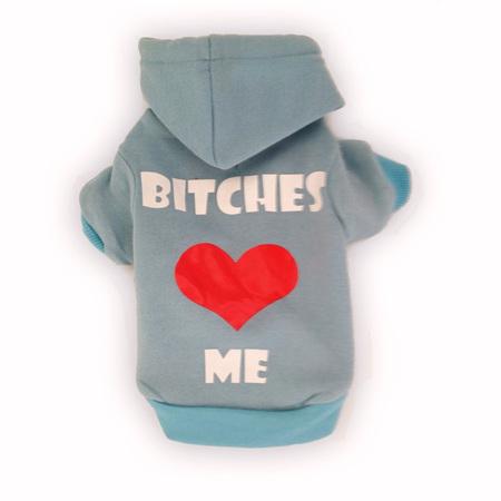 Bitches Love Me - Blue