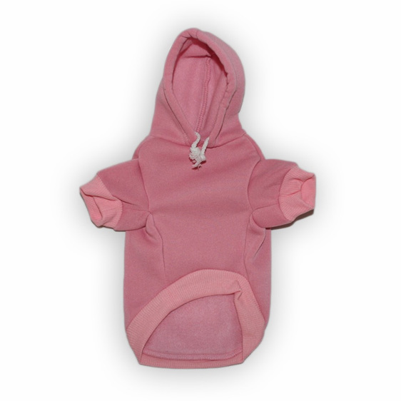 Bitches love me soft pink dog hoodie
