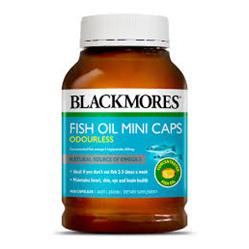 BL Odourless Fish Oil Mini 200caps
