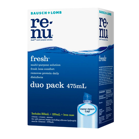 B&L RENU FRESH MULTI/P 475ML DUO PK