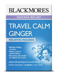 BL Travel Calm Ginger 45tabs