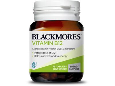 BL Vitamin B12 50mcg 75tabs