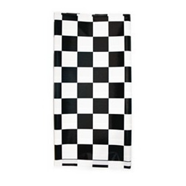 Black and White Check Table Cover