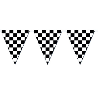 Black and White Checkered Party Range
