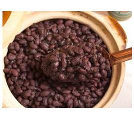 Black Beans Organic Dried Approx 100g