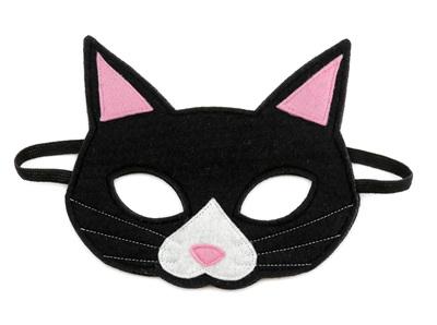 Oliver the Black Cat Mask