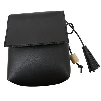 BLACK CROSSOVER BAG