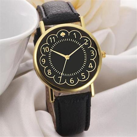 Black & Gold Spades Black Watch