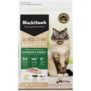 Black Hawk Feline Grain Free Chicken & Turkey