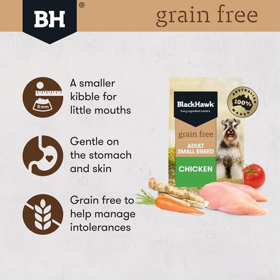 Black Hawk Grain Free Small Breed Chicken