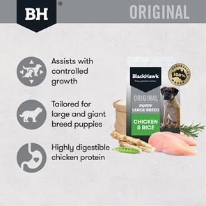 Black Hawk Original Large Breed Puppy Chicken & Rice