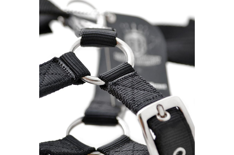 Black Heavy Duty Slimline SupaTuff Harness by Rogue Royalty