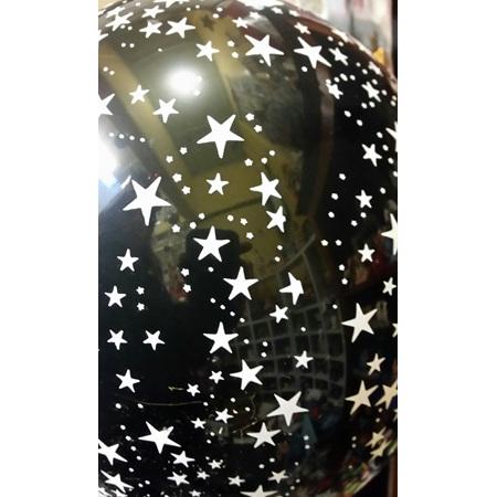 Black Hollywood Stars balloon