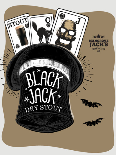 Black Jack Dry Stout Grain Kit