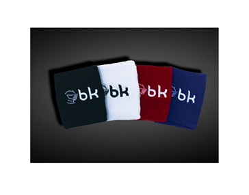Black Knight Wrist Sweat Bands