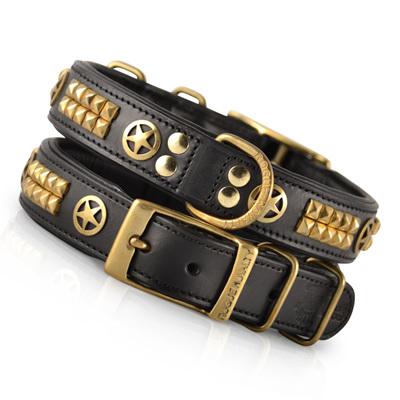 Rogue Ranger Brass Collar