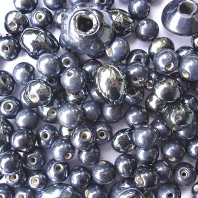 Black Lustre Bead Mix