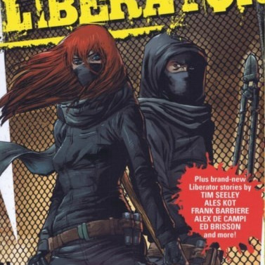 Black Mask Liberator Graphic Novel