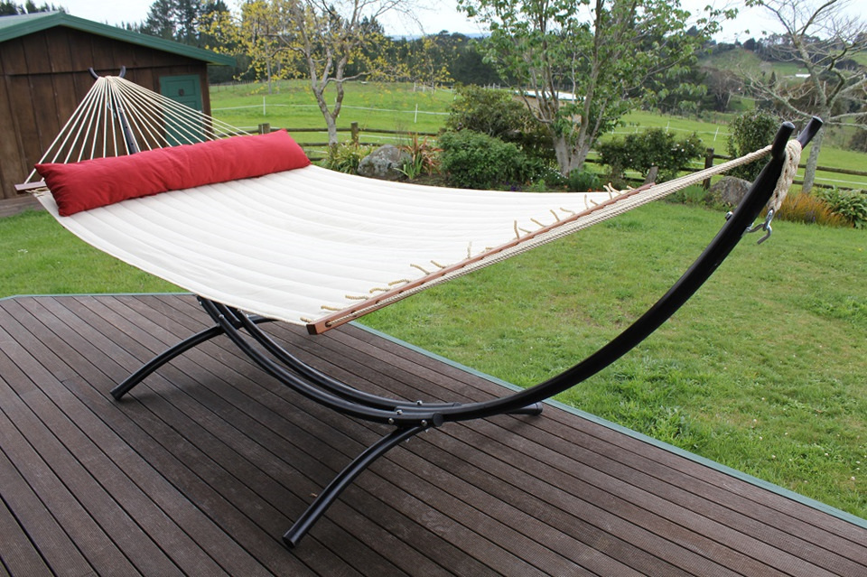 replacement hammock for frame deluxe padded folding. Black Bedroom Furniture Sets. Home Design Ideas
