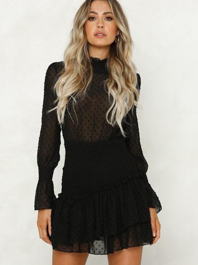 Black out Dress