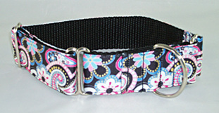 Black Paisley Collar