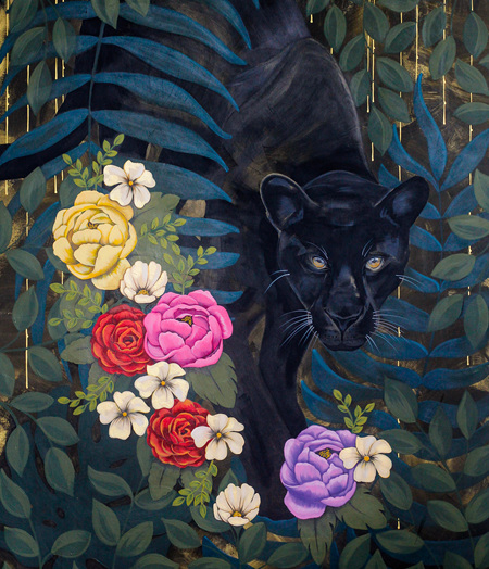 Black Panther limited edition BIG print