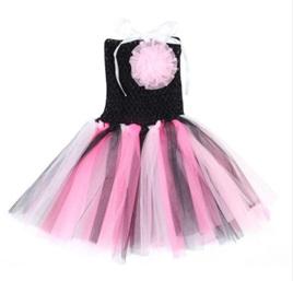 BLACK & PINK TUTU DRESS SIZE 0-2YRS