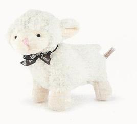 Black Ribbon Lamb 14cm