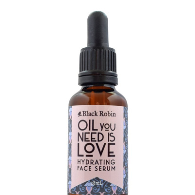 Black Robin Oil You Need is Love hydrating face serum