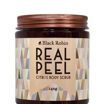 Black Robin Real Peel Citrus Body Scrub 240g
