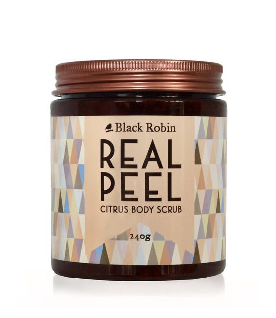 Black Robin Real Peel Citrus Body Scrub 240g