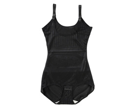 Black Underbust Bodysuit Size 16