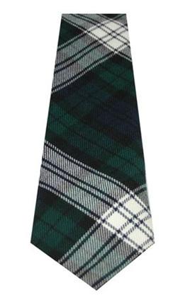 Black Watch Dress Modern Tartan Necktie