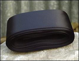 Black Wedding Car Ribbon