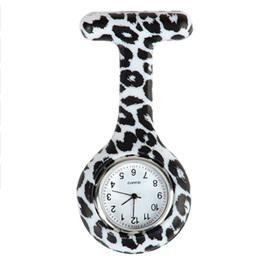 Black & White Animal Print Nurse Watch