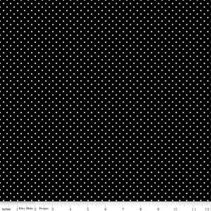 Black with White Spot C670bw
