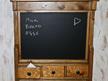 Blackboard and Drawer Wall Unit