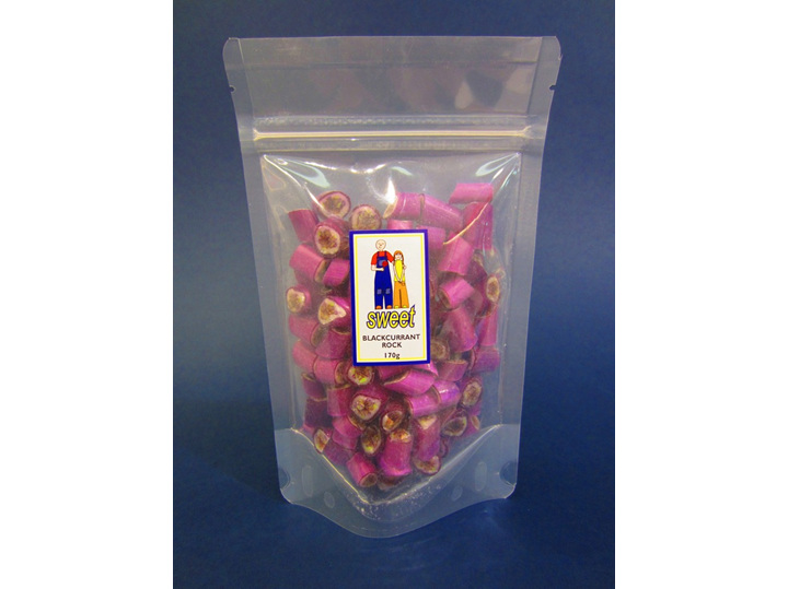 blackcurrant blackcurrent rock candy bag