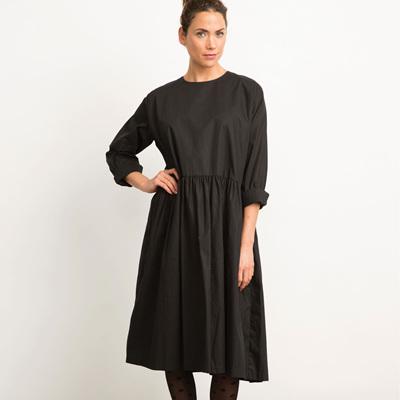 BLACKLIST  COTTON DRESS IN BLACK