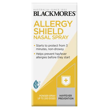 Blackmores Allergy Shield Nasal Spray, 200 Dose