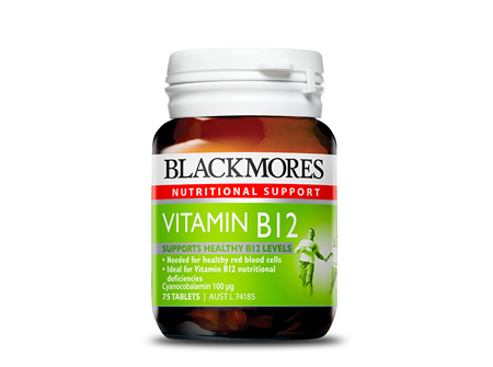 Blackmores B12 -75 Tabs