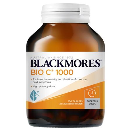 Blackmores Bio C 1000, 150 Tablets (37813)