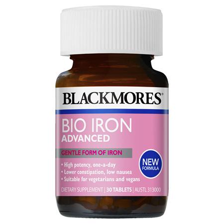 Blackmores Bio Iron Advanced, 30 Tablets (36829)
