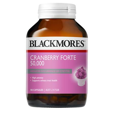 Blackmores Cranberry Forte 50,000, 90 Capsules (37333)